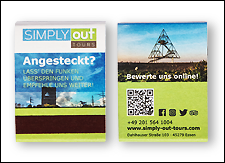 Streichholzbrief Eco aus Recycling-Karton